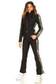 Goldbergh |  Ski suit Goldfinger | black  | Picture 6
