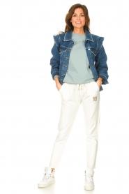 Blaumax |  Sweatpants Queens | white  | Picture 2