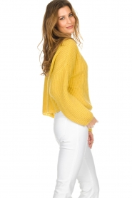 Be Pure |  Knitted turtleneck sweater | yellow  | Picture 4