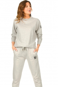 Blaumax |  Basic sweater Brooklyn | grey  | Picture 5
