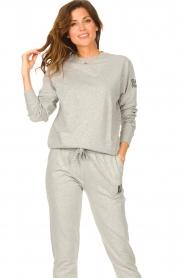 Blaumax |  Basic sweater Brooklyn | grey  | Picture 2