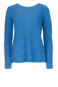 Aaiko |  Sweater Memphis | blue  | Picture 1
