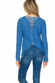 Aaiko |  Sweater Memphis | blue  | Picture 5