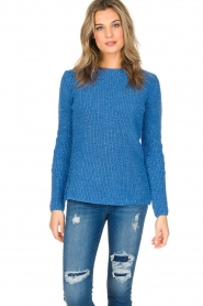 Aaiko |  Sweater Memphis | blue  | Picture 2