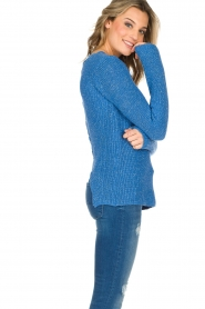 Aaiko |  Sweater Memphis | blue  | Picture 4