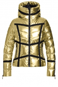 Goldbergh | Down jacket Mirror | gold  | Picture 1