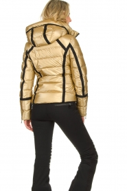 Goldbergh | Down jacket Mirror | gold  | Picture 6