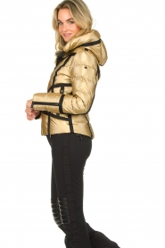 Goldbergh | Down jacket Mirror | gold  | Picture 5