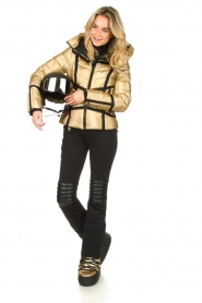 Goldbergh | Down jacket Mirror | gold  | Picture 2