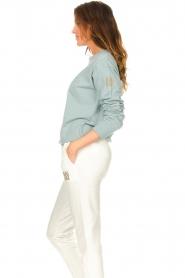 Blaumax |  Basic sweater Brooklyn | blue  | Picture 5