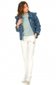 Blaumax |  Basic sweater Brooklyn | blue  | Picture 3
