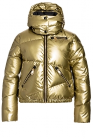 Goldbergh |  Down jacket Baloon | gold  | Picture 1