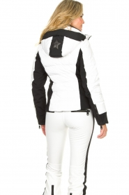 Goldbergh | Down jacket Cross | white  | Picture 6