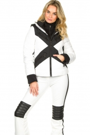 Goldbergh | Down jacket Cross | white  | Picture 2