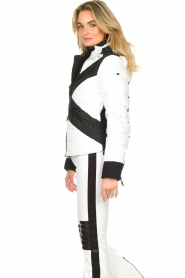 Goldbergh | Down jacket Cross | white  | Picture 5
