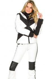 Goldbergh | Down jacket Cross | white  | Picture 4