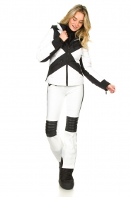Goldbergh | Down jacket Cross | white  | Picture 3