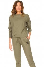 Blaumax    Basic sweater Brooklyn   green    Picture 4
