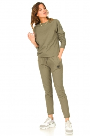 Blaumax    Basic sweater Brooklyn   green    Picture 3