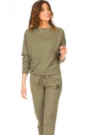 Blaumax    Basic sweater Brooklyn   green    Picture 5