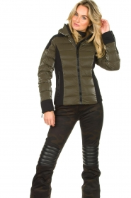 Goldbergh | Down jacket Strong | green  | Picture 4