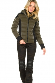 Goldbergh | Down jacket Strong | green  | Picture 2
