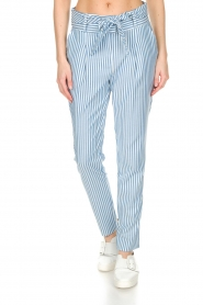 Aaiko |  Trousers Wyatt | blue  | Picture 2