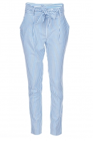 Aaiko |  Trousers Wyatt | blue  | Picture 1