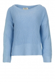 Be Pure |  Sweater Roos | blue  | Picture 1