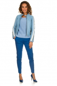 Be Pure |  Sweater Roos | blue  | Picture 3