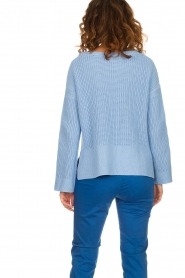 Be Pure |  Sweater Roos | blue  | Picture 5