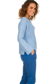 Be Pure |  Sweater Roos | blue  | Picture 4