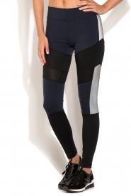 Sportlegging Reflex | zwart/blauw