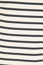 Knit-ted | Gestreepte jurk Brigitte | blauw/wit  | Afbeelding 6