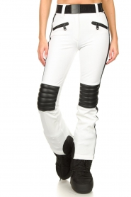 Goldbergh | Ski pants Rocky | white  | Picture 4
