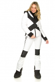 Goldbergh | Ski pants Rocky | white  | Picture 3