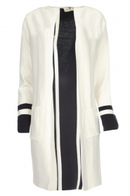 Be Pure |  Cotton cardigan Roxanne | white  | Picture 1