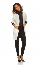 Be Pure |  Cotton cardigan Roxanne | white  | Picture 3