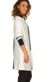 Be Pure |  Cotton cardigan Roxanne | white  | Picture 4