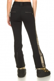 Goldbergh | Ski pants Rocky | black/gold  | Picture 6