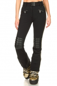 Goldbergh | Ski pants Rocky | black/gold  | Picture 4