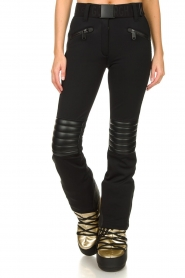 Goldbergh |  Ski pants Rocky | black  | Picture 4