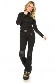 Goldbergh |  Ski pants Rocky | black  | Picture 2