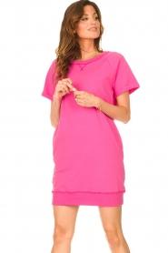 Blaumax |  Sweater dress Queens | pink  | Picture 5
