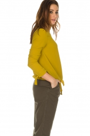 Aaiko |  Top Zippe | yellow  | Picture 4