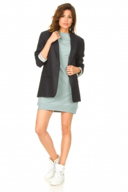 Blaumax |  Sweater dress Queens | mint blue  | Picture 3