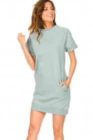 Blaumax |  Sweater dress Queens | mint blue  | Picture 4