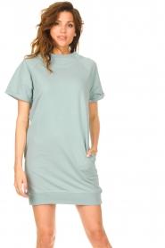 Blaumax |  Sweater dress Queens | mint blue  | Picture 2