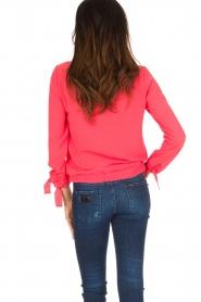 Aaiko | Top Zippe | oranje/roze  | Afbeelding 5