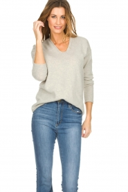 Be Pure | Sweater Noortje | grey  | Picture 2